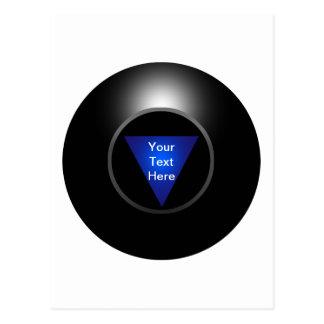 Magic 8 Ball - Your Text Postcard