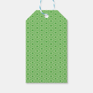 Magic Abstracts Green Gift Tags