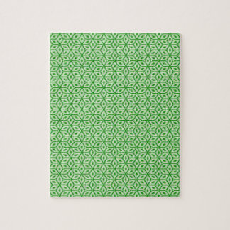 Magic Abstracts Green Jigsaw Puzzle