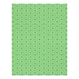 Magic Abstracts Green Letterhead