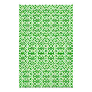 Magic Abstracts Green Stationery