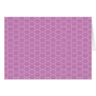 Magic Abstracts Pink and Purple Card