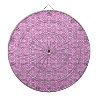 Magic Abstracts Pink and Purple Dartboard