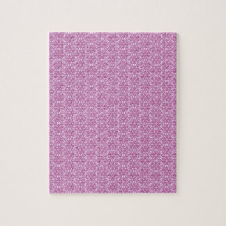 Magic Abstracts Pink and Purple Jigsaw Puzzle