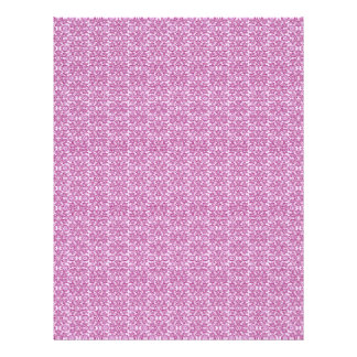 Magic Abstracts Pink and Purple Letterhead