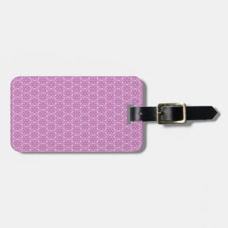 Magic Abstracts Pink and Purple Luggage Tag
