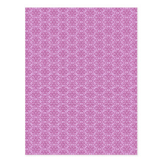Magic Abstracts Pink and Purple Postcard