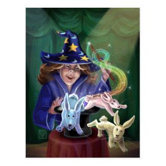 Magic Act Postcard