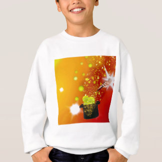 Magic also takes place in tennis sweatshirt