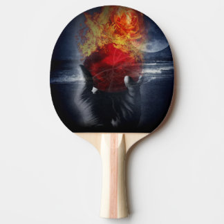 Magic Ball Ping Pong Paddle