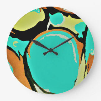 MAGIC BALLS round large wall clock