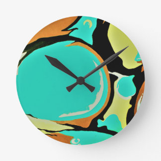 MAGIC BALLS round medium wall clock