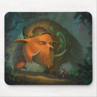 Magic Bear Mouse Pad