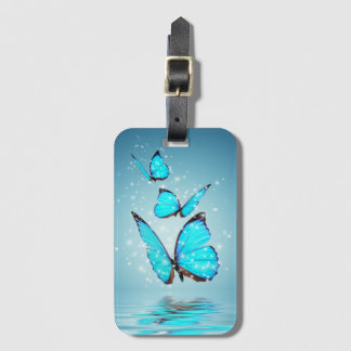 Magic Butterflies Luggage Tag