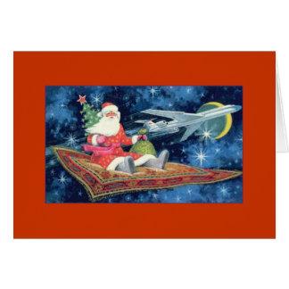 Magic Carpet Christmas Card