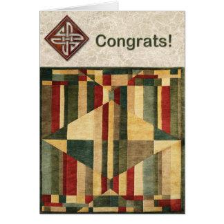 Magic Carpet Ride Congrats Card