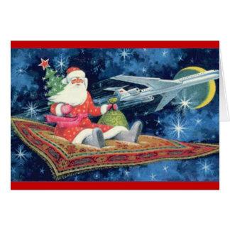 magic carpet santa card