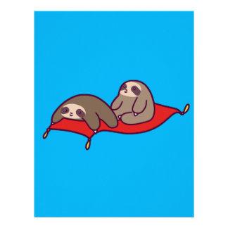 Magic Carpet Sloths Letterhead