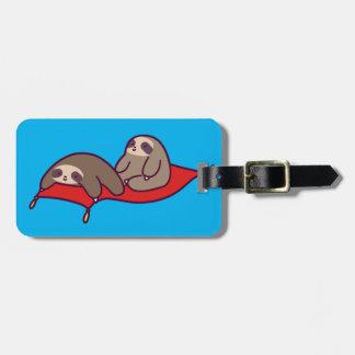 Magic Carpet Sloths Luggage Tag