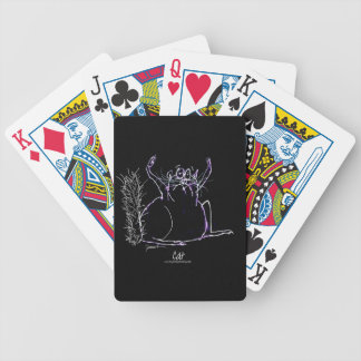 magic cat bicycle playing cards