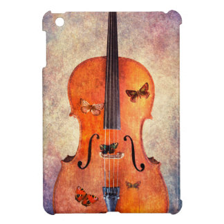 Magic cello with butterflies iPad mini case