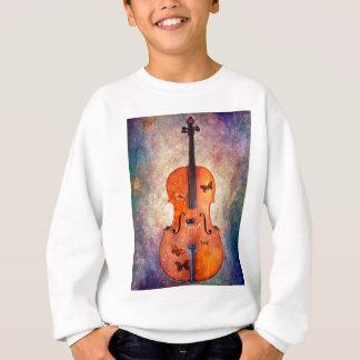 Magic cello with butterflies sweatshirt
