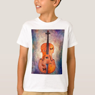 Magic cello with butterflies T-Shirt