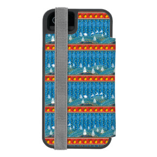 Magic Christmas background. Incipio Watson™ iPhone 5 Wallet Case