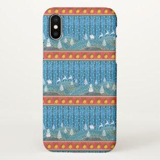 Magic Christmas background. iPhone X Case