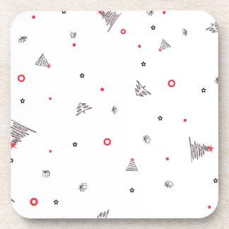 Magic Christmas Rain Coaster