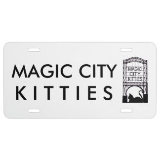 Magic City Kitties License Plate