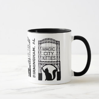 Magic City Kitties Ringer Mug