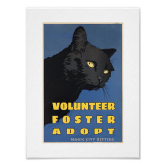 Magic City Kitties WPA Poster