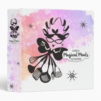 Magic cooking kitchen fairy cookbook recipe binder