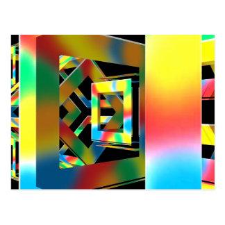 Magic Cubes Postcard