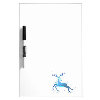 Magic Cute Christmas Deer with bell Dry Erase Board