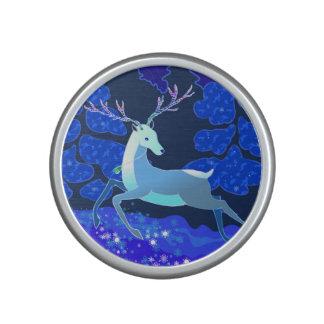 Magic Cute Christmas Deer with bell Speaker