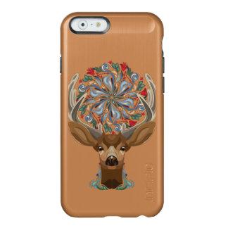 Magic Cute Forest Deer with flourish spring symbol Incipio Feather® Shine iPhone 6 Case