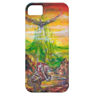 MAGIC DUEL BETWEEN BRADAMANT AND NEGROMANCER iPhone 5 COVERS