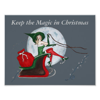 Magic Elf Poster