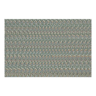"Magic Eye® 3D ""Financial Vision"" Poster 36"" x 24"""