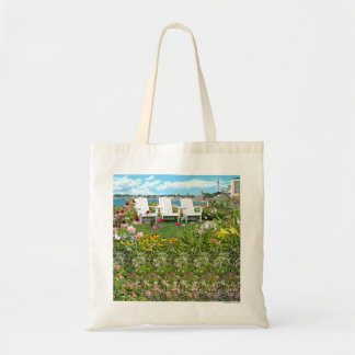 "Magic Eye® 3D ""Summer in Paradise"" Tote Bag"
