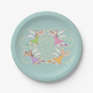 Magic Fairies Paper Plate
