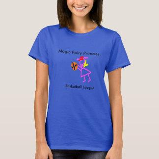 magic fairy princess basketball league girl power T-Shirt