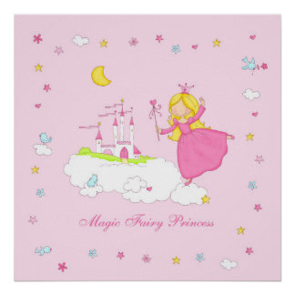 Magic Fairy Princess Poster