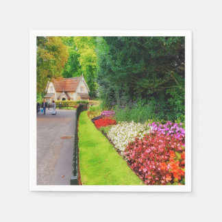 Magic Fairy-Tale British Landscape Paper Napkin