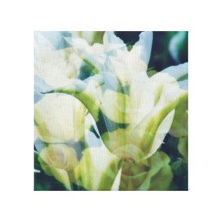 Magic Flower Pair Canvas Print