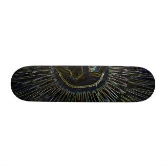 Magic Flower Skate Board