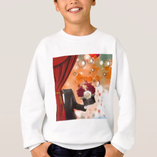 Magic flowers for a very special person. sweatshirt