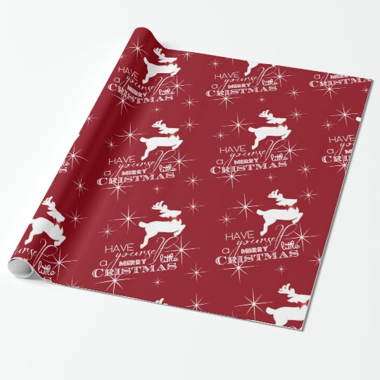 Magic Flying Reindeer Christmas (red)